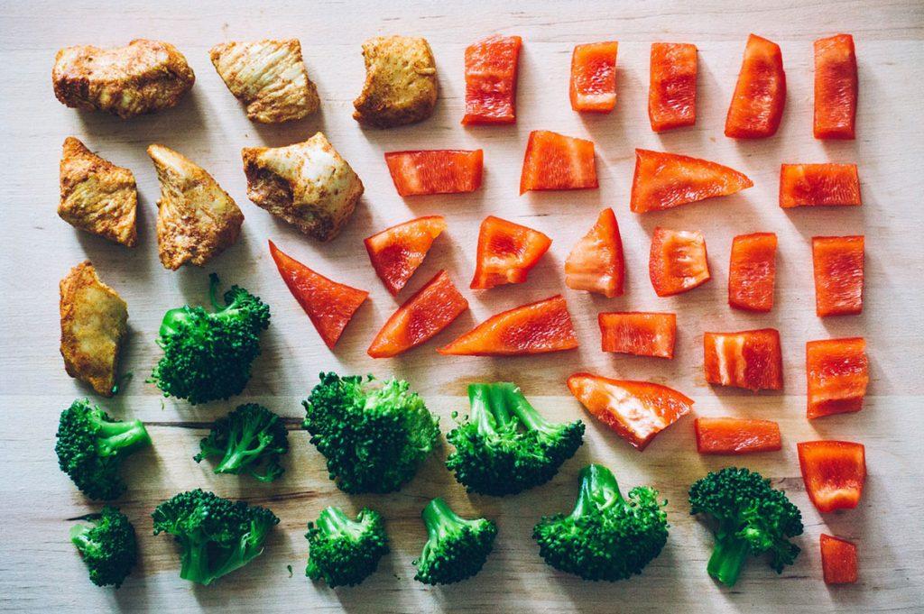 Bild Gemüse - Bauchfett reduzieren